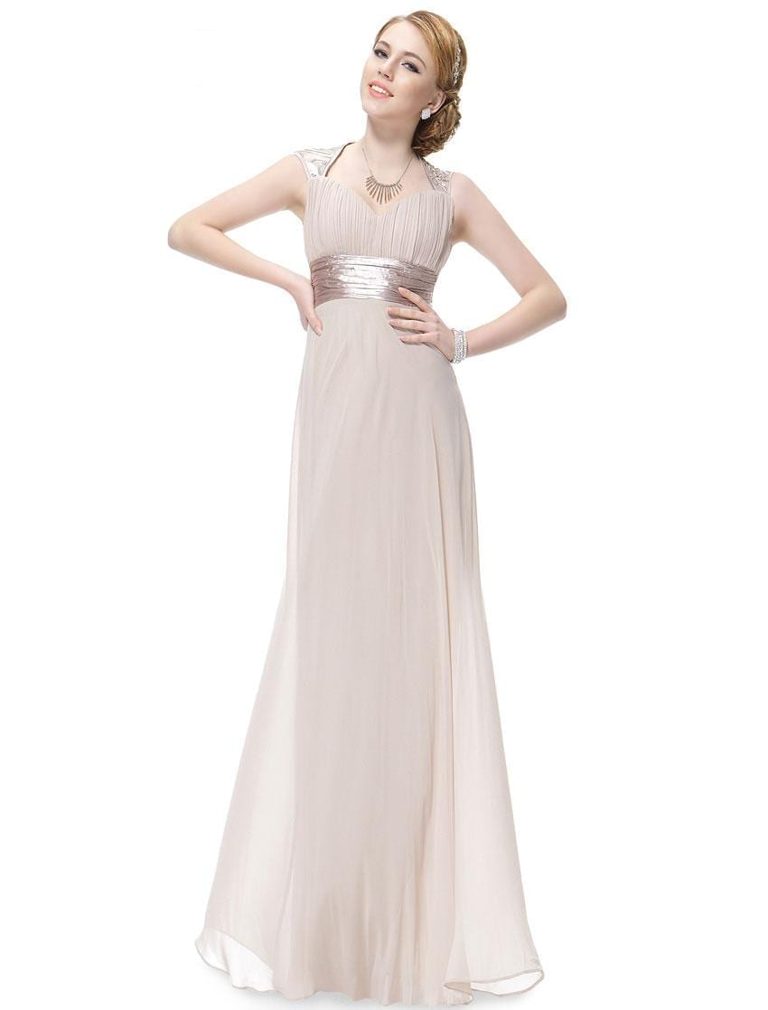 Trailing-sequins-toasted-almond-empire-waist-ruching-nwt-prom-dress