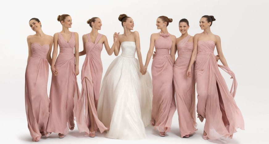 Floral Bridesmaid Dresses - Totally Cute or Utterly Over The Top ...