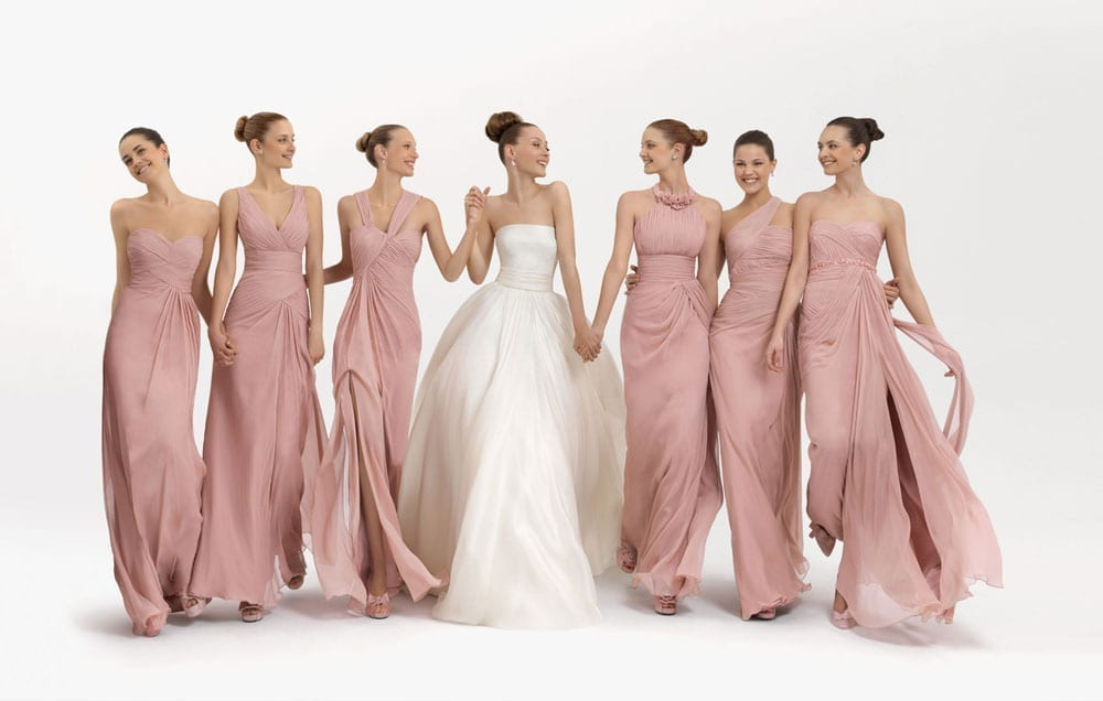 Floral Bridesmaid Dresses - Totally Cute or Utterly Over The Top?