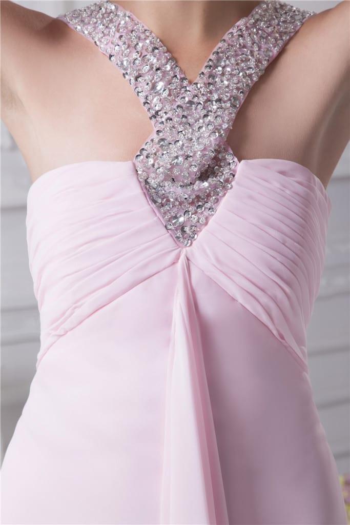 Long Evening Sweetheart Dress details