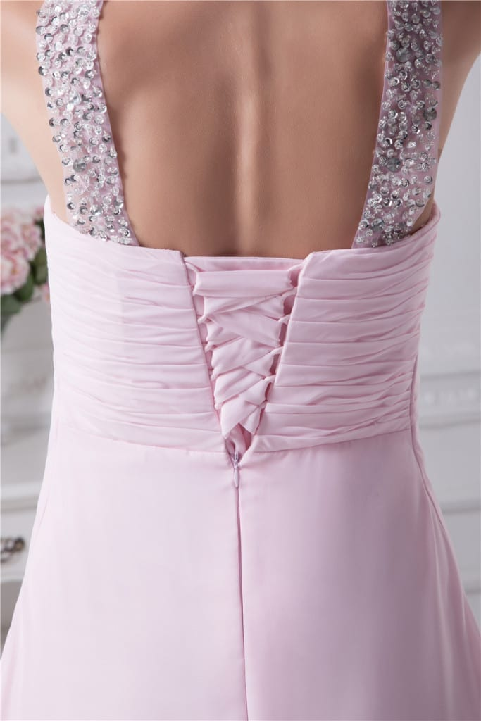 Long Evening Sweetheart Dress details2
