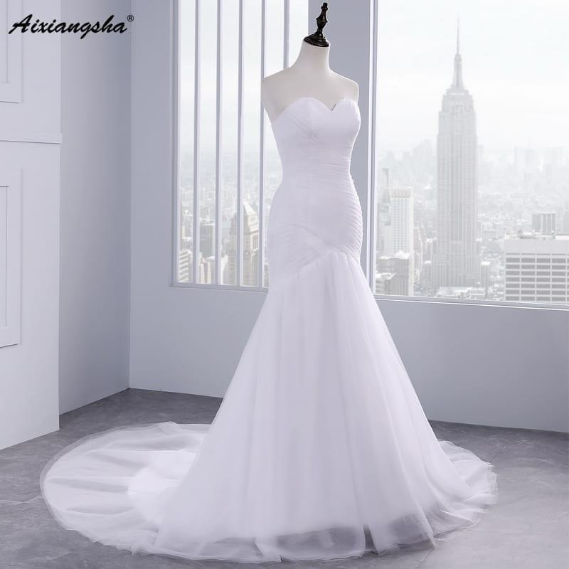 Elegant Mermaid  Wedding Dress