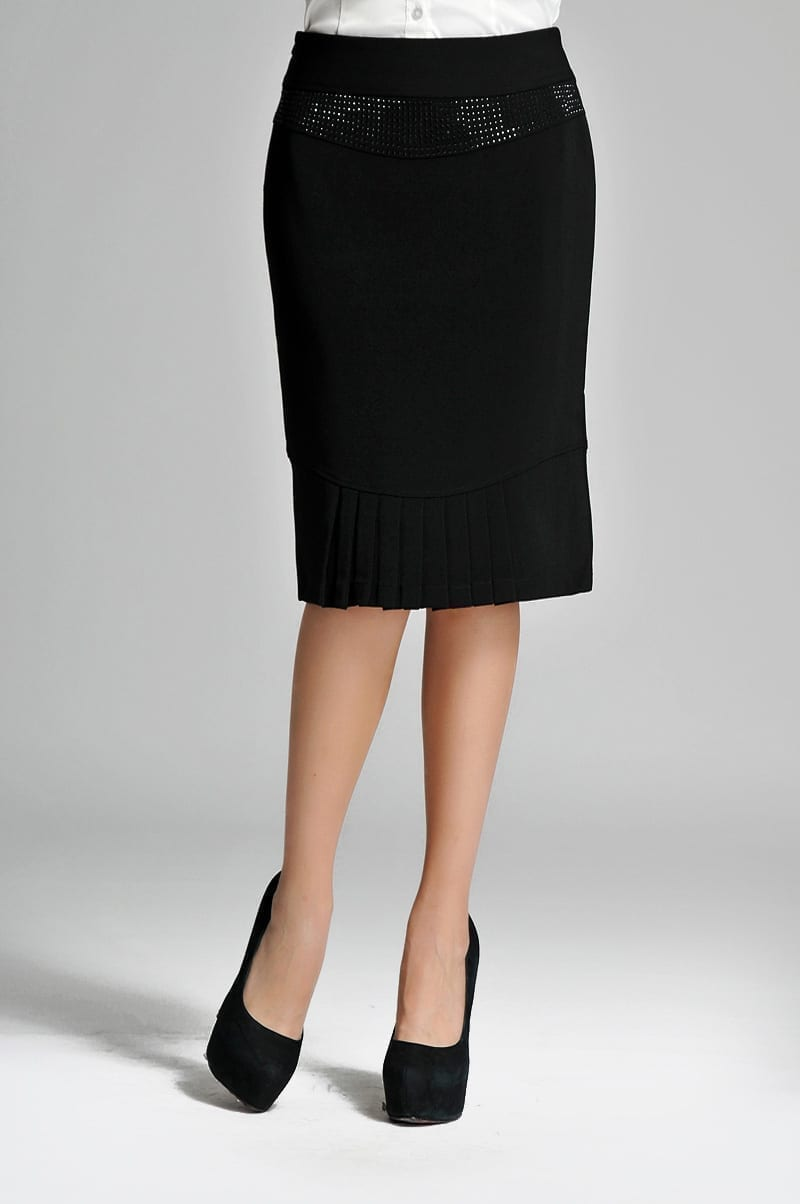 Fish Tail Elegant Solid Skirt