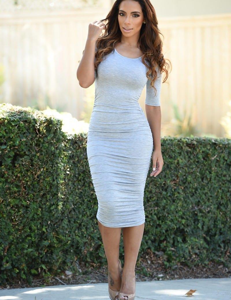Long Maxi Bodycon Bandage Dress