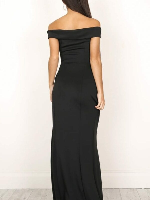 Sexy Black Maxi Dress