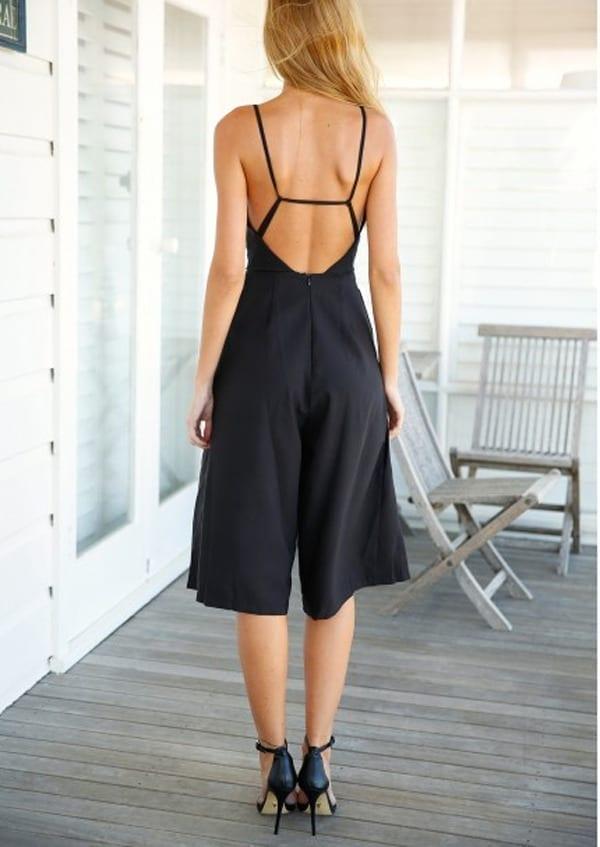 Backless Xl Halter Wide Leg Sexy Elegant Jumpsuit