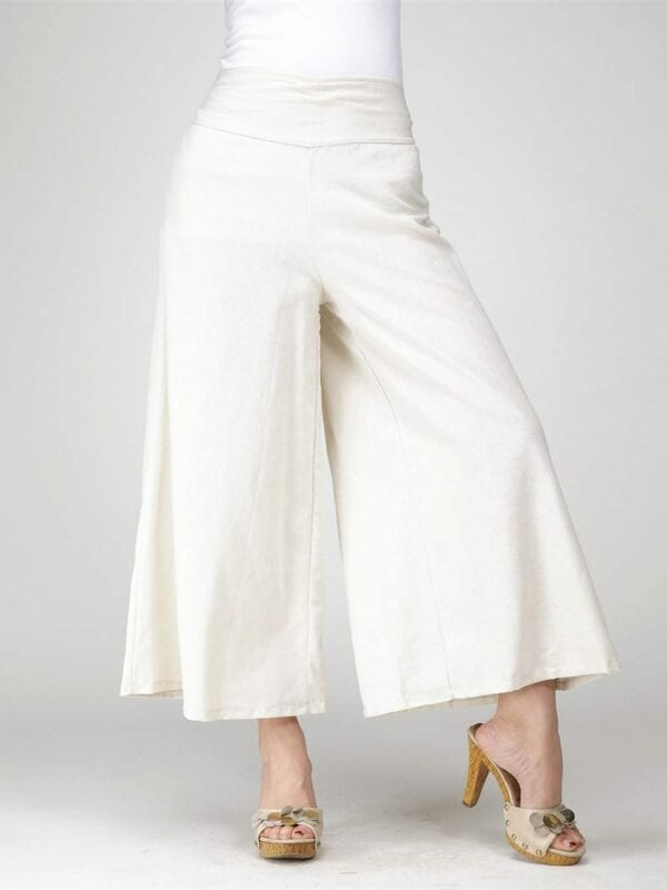 Long Casual Drawstring Trousers