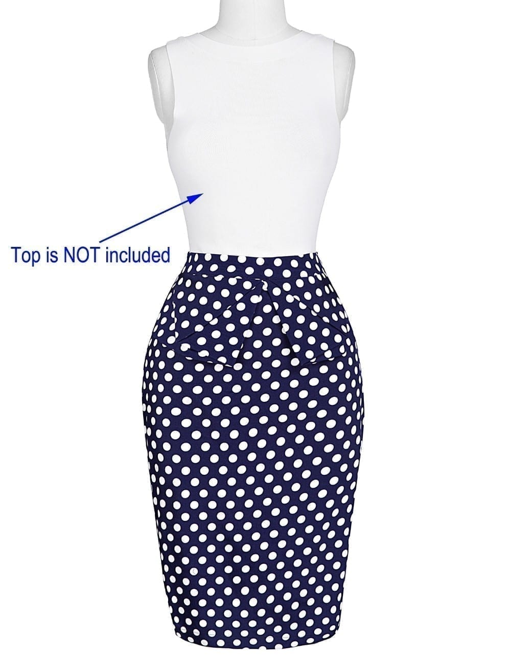 Pencil Bodycon Office Vintage Floral Skirt 2