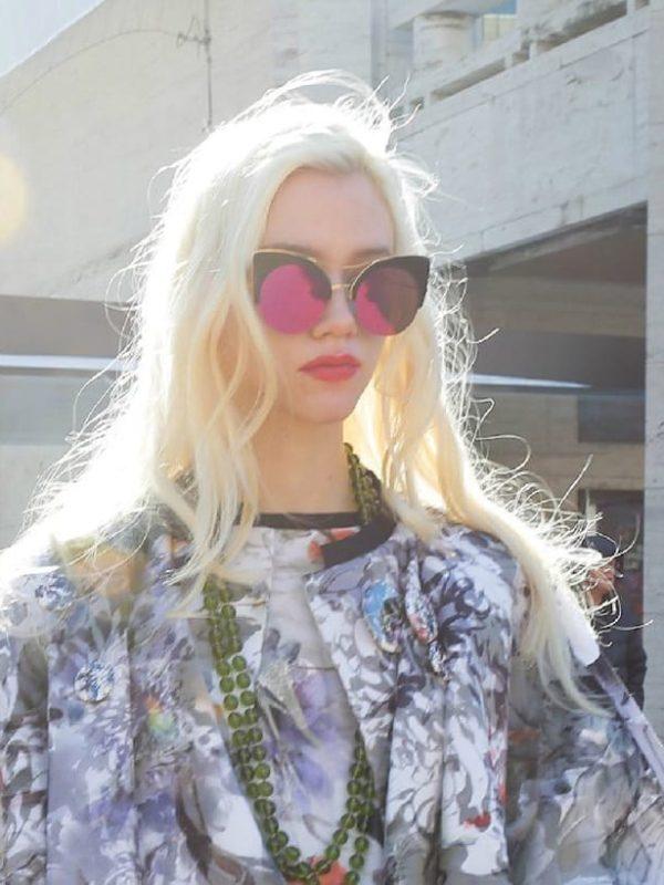 Printed Summer Cat Eye  Sunglasses