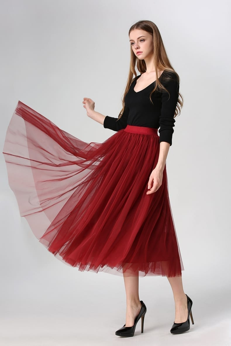 Women Tulle Maix A-line Skirt Long Floor Length Prom Wedding Bridal Skirts See more like this. Women Fashion Tulle Long Skirt Elastic High Waist A-line Pleated Maxi Skirts USA. New (Other) $ to $ Buy It Now. Free Shipping. US Women MultiLayer Tulle Skirt Princess Ballet Tutu Dance Prom Party Long Dress.