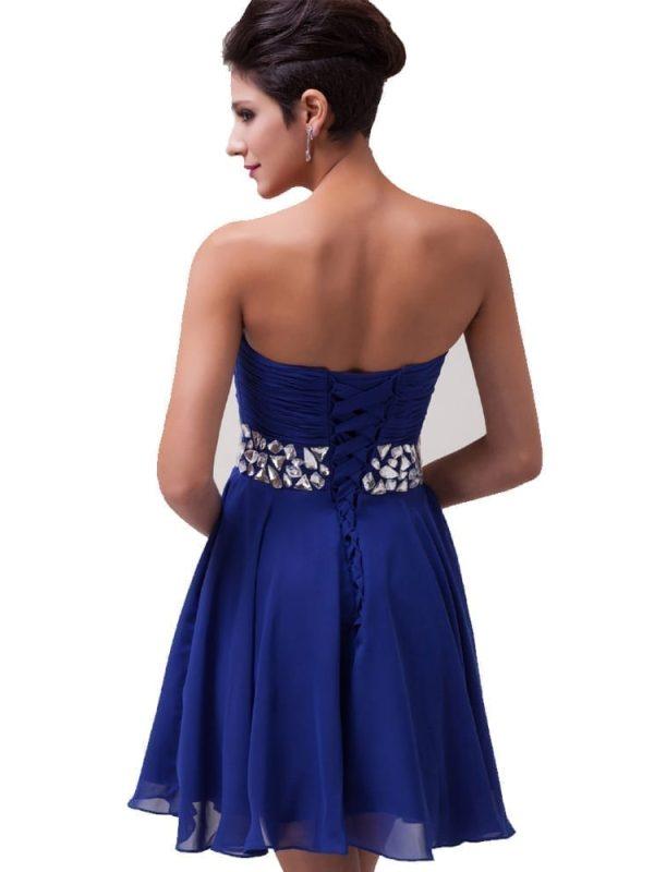 Elegant Chiffon Short Evening Dress