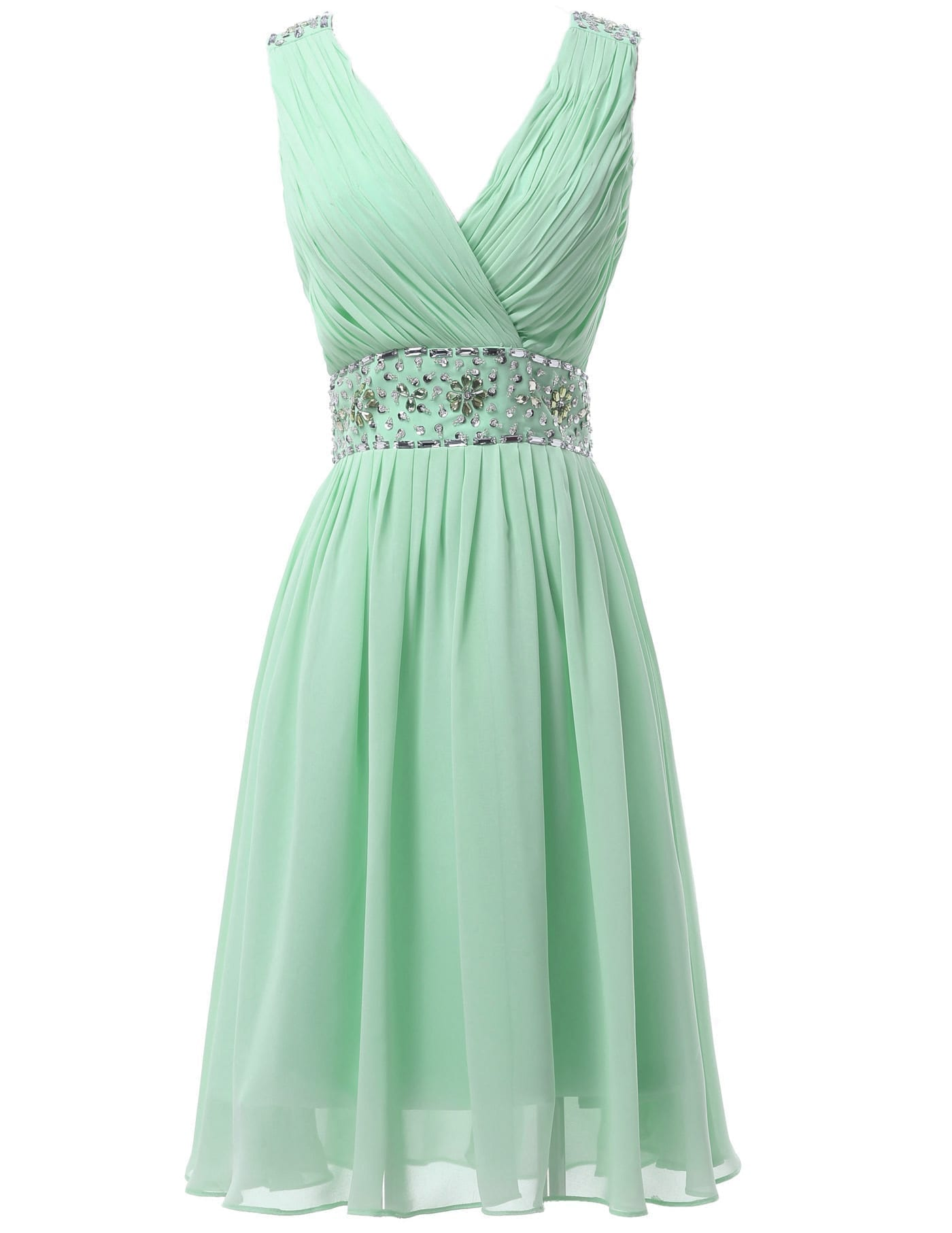green dresses for wedding mint green chiffon sequin bridesmaid dress 4609