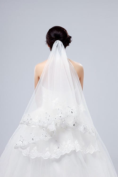Beauty One-layer Lace Veil