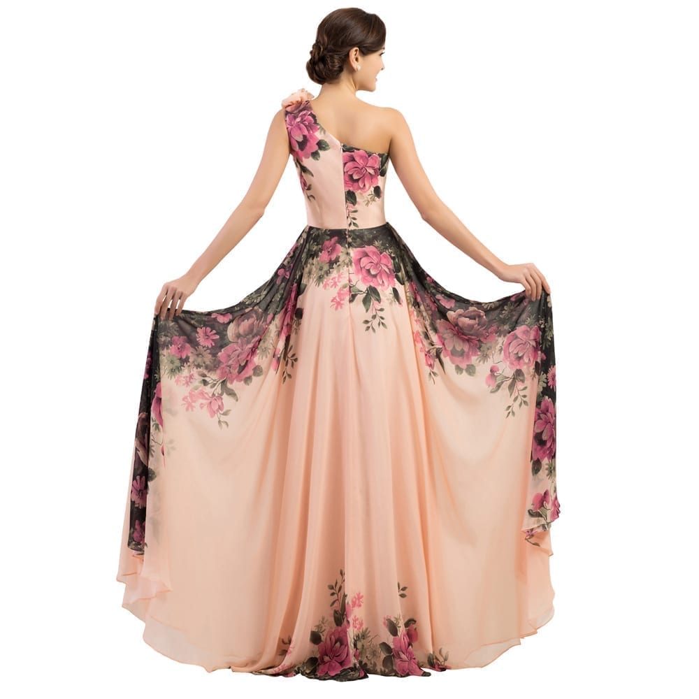 Flower Evening Wear