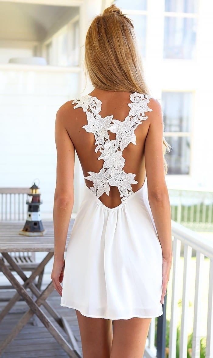 Beach Loose Casual Mini Sun Dress