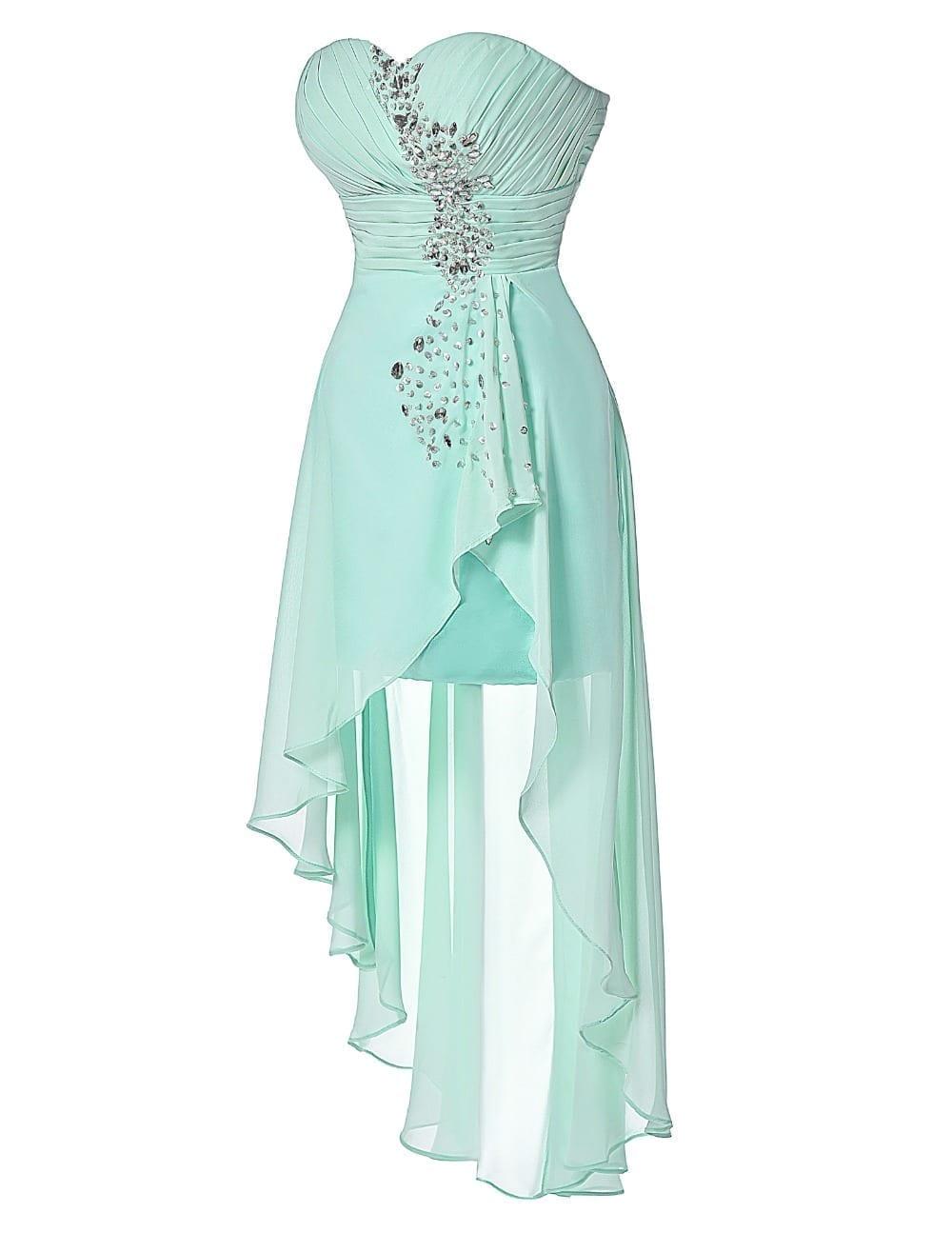 prom dresses short turquoise