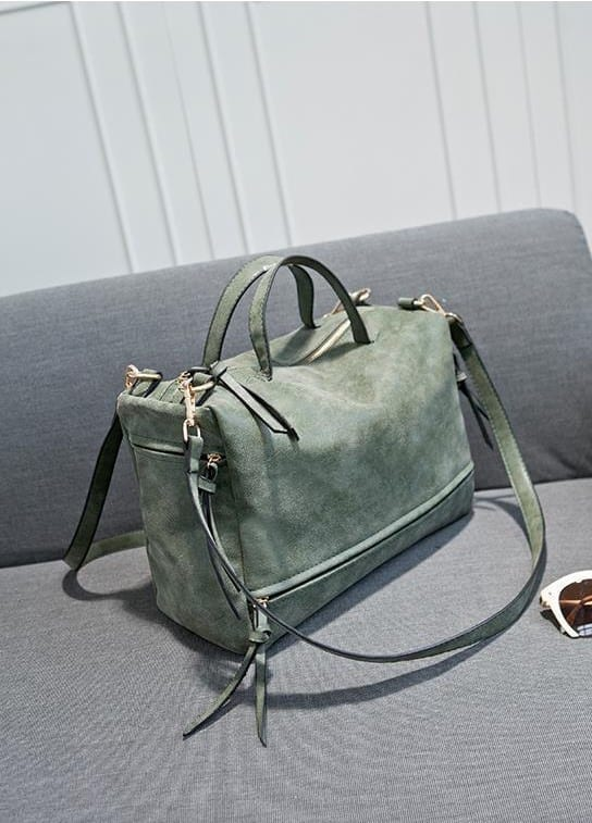 Vintage Women Messenger Moto Shoulder Crossbody Bag