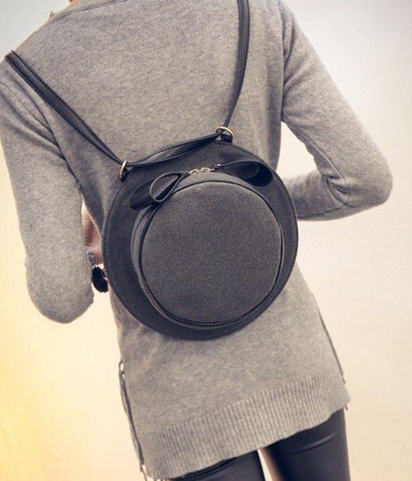 Cute Bow Shoulder Creative Girl Hat Cross Bag