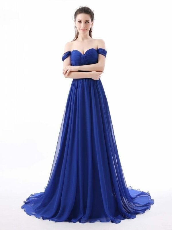A-line Sweetheart Chiffon Elegant Bridesmaid Dress