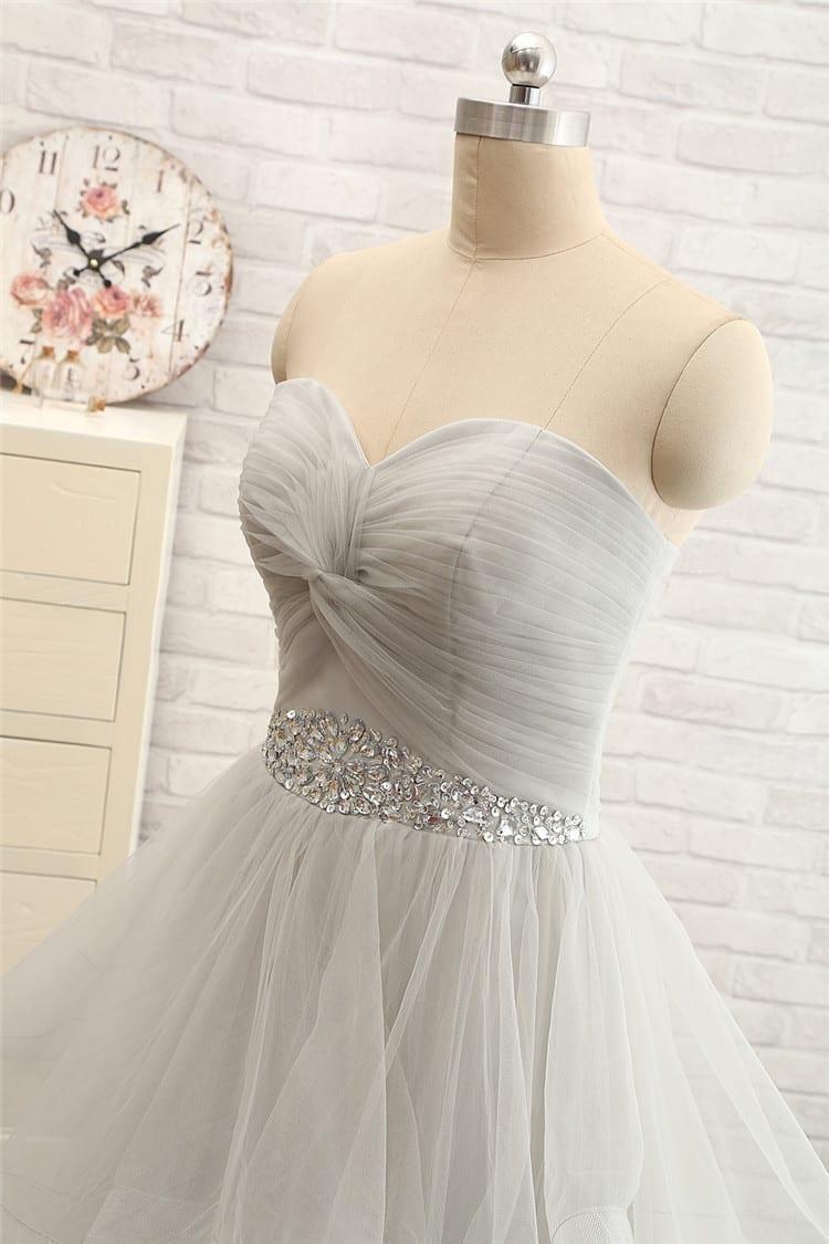 Off The Shoulder Tulle Long Evening Elegant Dress