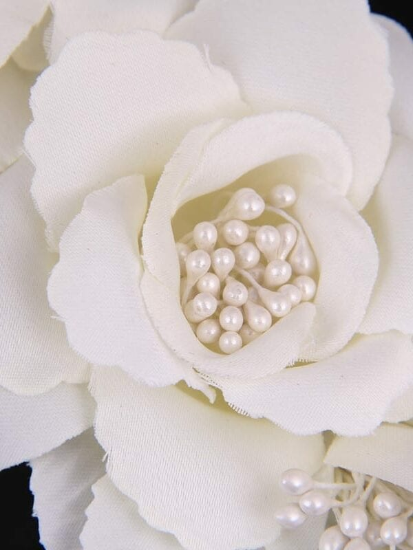 Elegant Bride Flower Pearl Wedding Charming Hair Clips