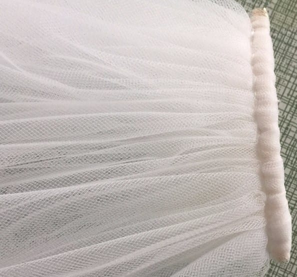 Cathedral Length Wedding Veil With Metal Comb 108 Inch 4