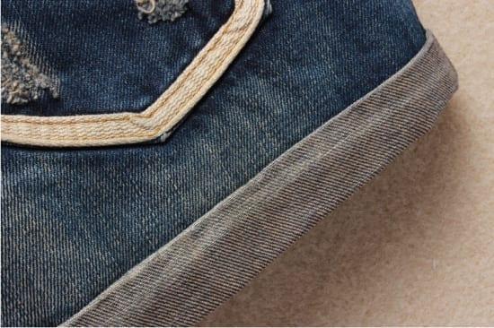 Vintage Club Denim Ripped Shorts