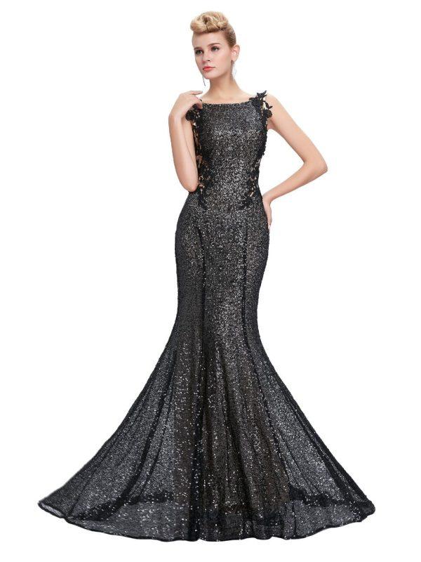 Sequin Long Mermaid Bridesmaid Dress