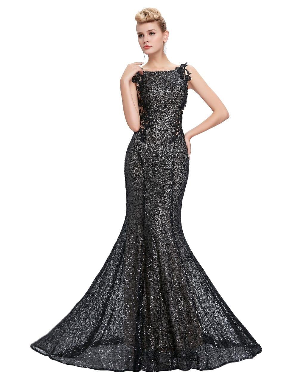 c90c95baa0d3 Sequin Long Mermaid Bridesmaid Dress - Uniqistic.com