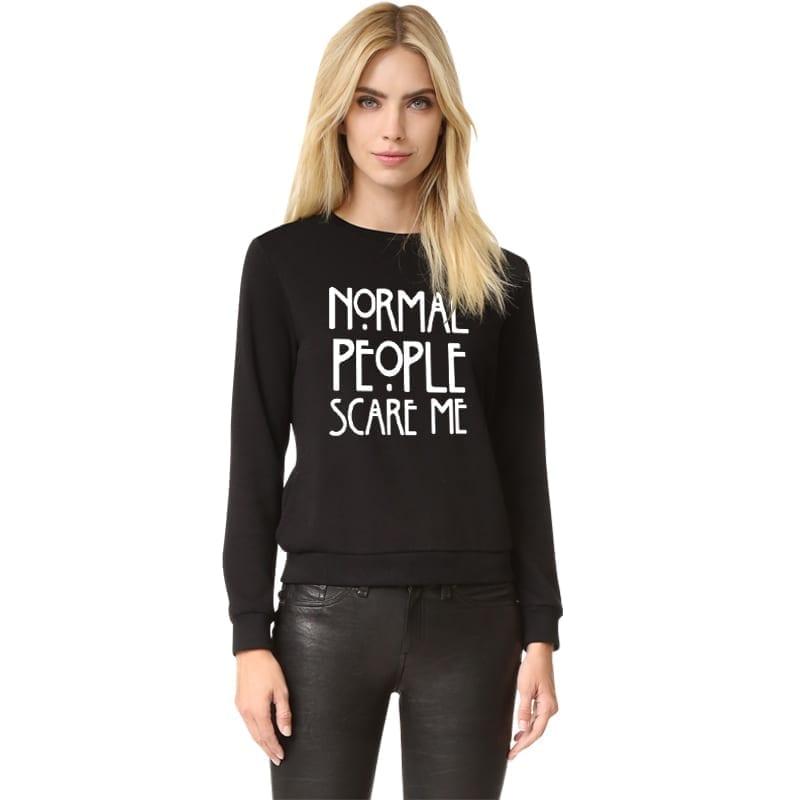 Print Funny Sweatshirt Hoodies