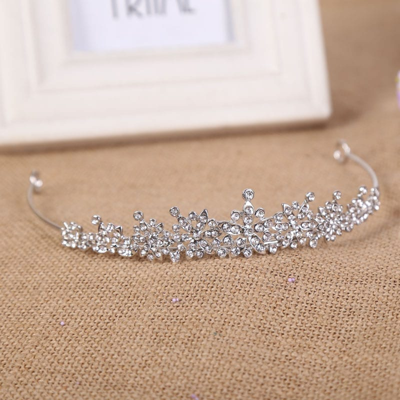 3 Designs Fashion Crystal Wedding Bridal Tiara Hair Jewelry