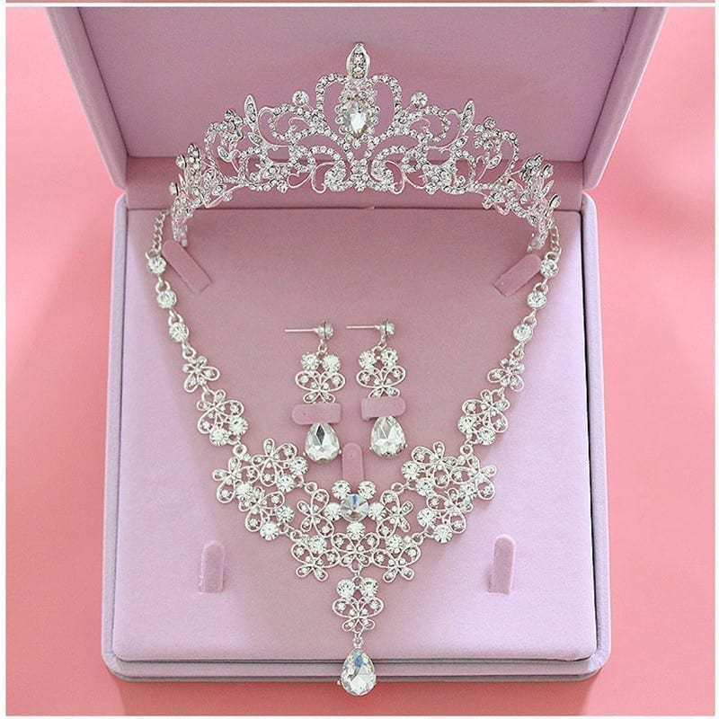 f9479c77747 Crystal Wedding Bridal Jewelry Set - Uniqistic.com