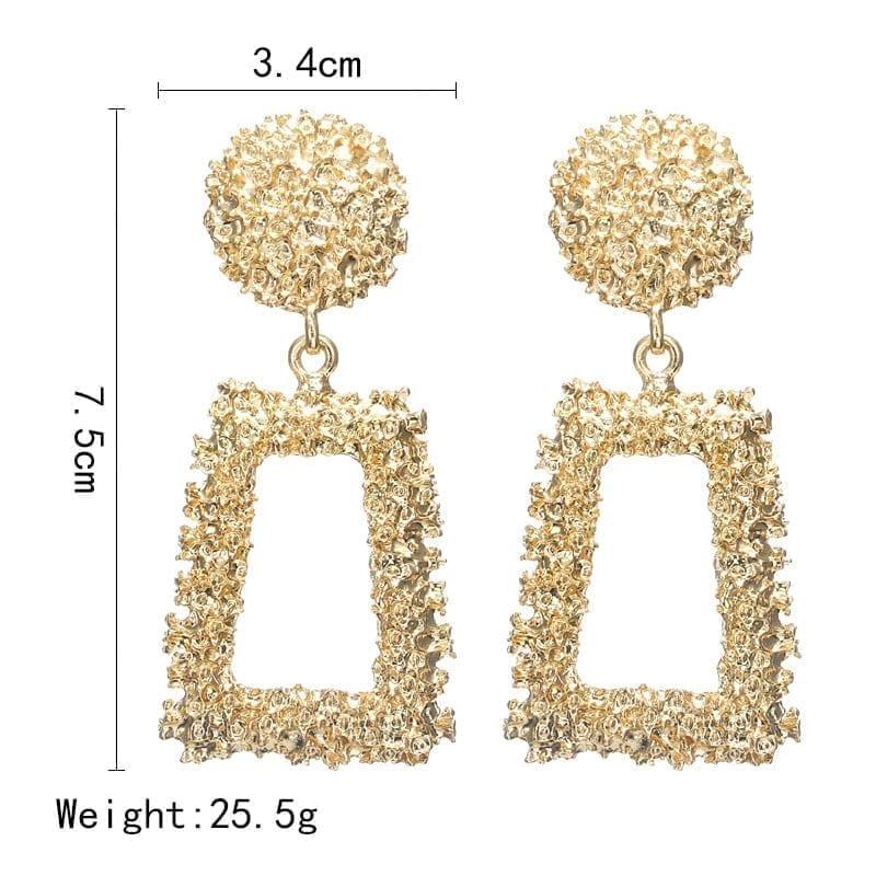 European Design Drop Earrings