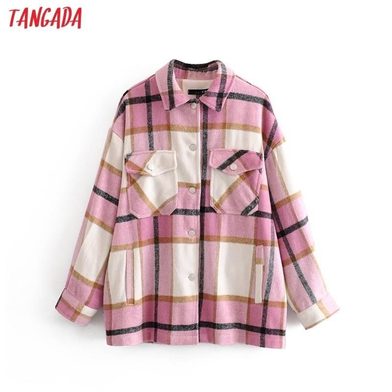 Long Plaid Jacket 5