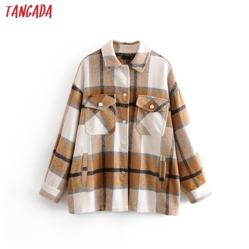Long Plaid Jacket 4