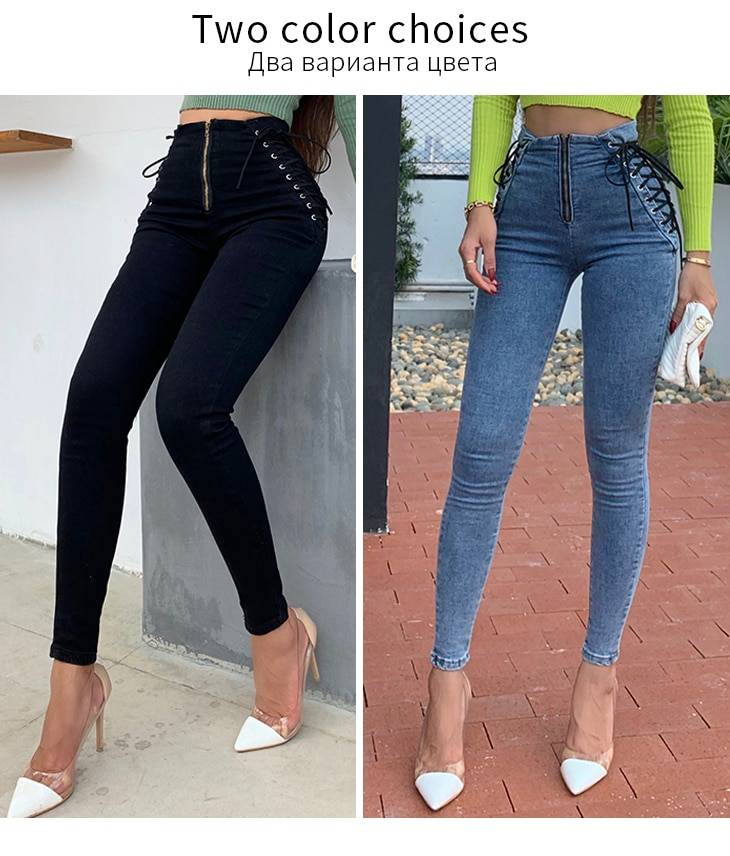 OkuohaoJeans High Waist Jeans Women Bubble Butt 2020 Autumn Winter Stretch Denim Pants Black Washed Slim Skinny Female Trousers