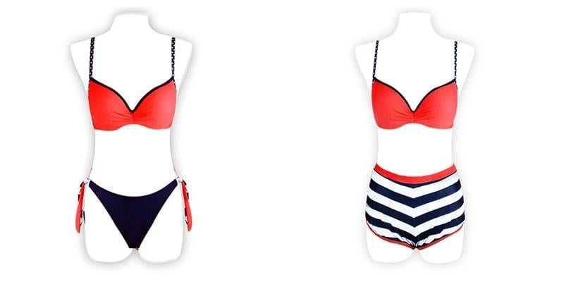 2020 Sexy Bikini Set Three Piece Swimsuit Women Push Up Swimwear Brazilian Bathing Suit Beachwear Swimming Suit For Women Bikini