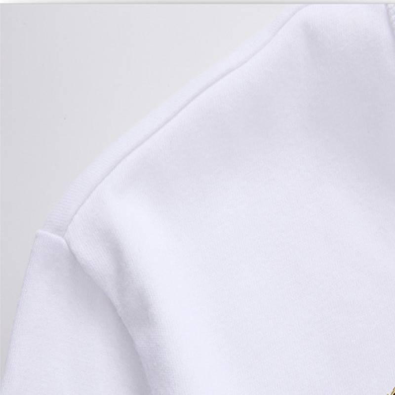 Eye Lashes Red Lips Print Short Sleeve O Neck T-Shirt 10