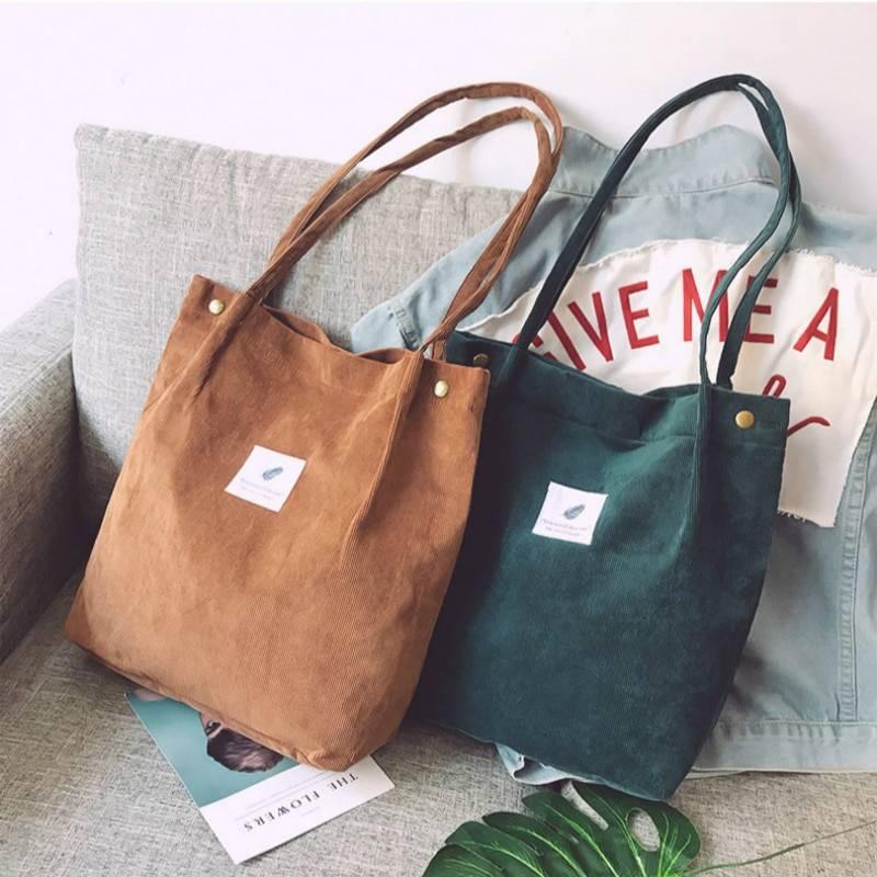 Reusable Shopping Casual Tote Female Shoulder Bag 9