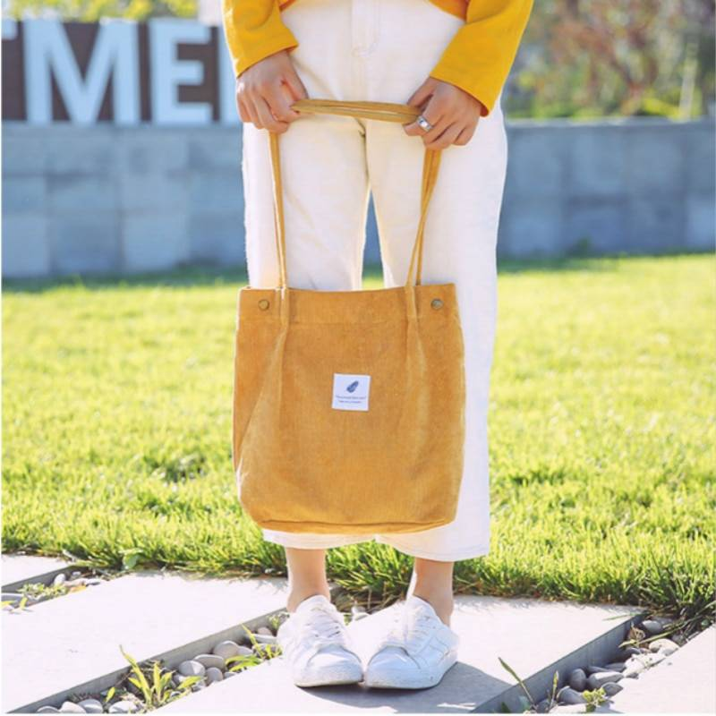 Reusable Shopping Casual Tote Female Shoulder Bag 8