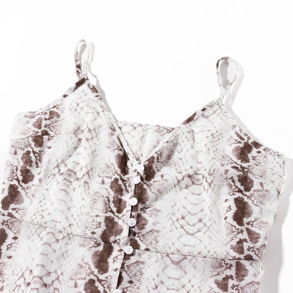 Loose chiffon beach ruffles v neck boho dress