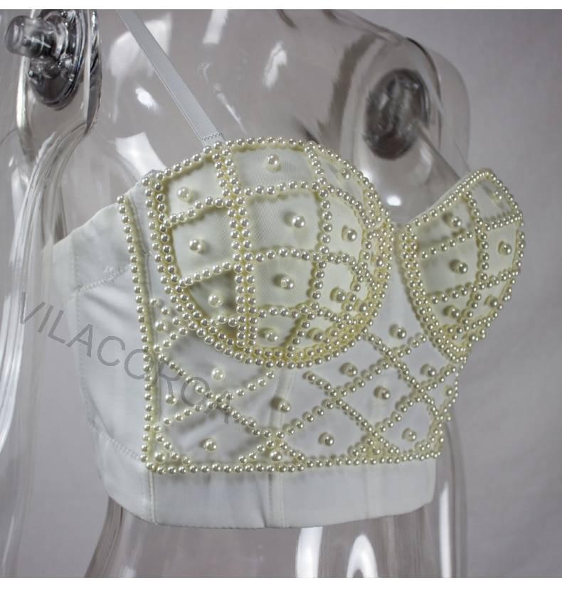 Gothic high waist camisole top