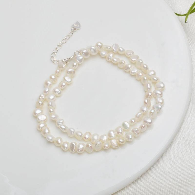 Baroque Pearl Choker Necklace 1