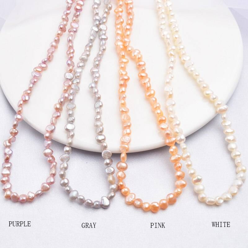 Baroque Pearl Choker Necklace 3