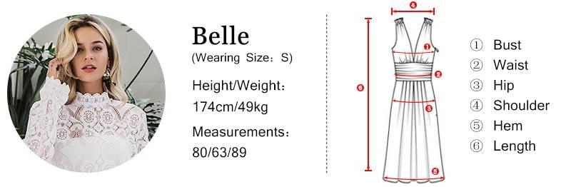 Elegant mesh long sleeve sequin v-neck maxi dress
