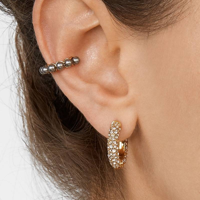 Rainbow Earrings Cubic Zirconia Ear Cuff Set 31