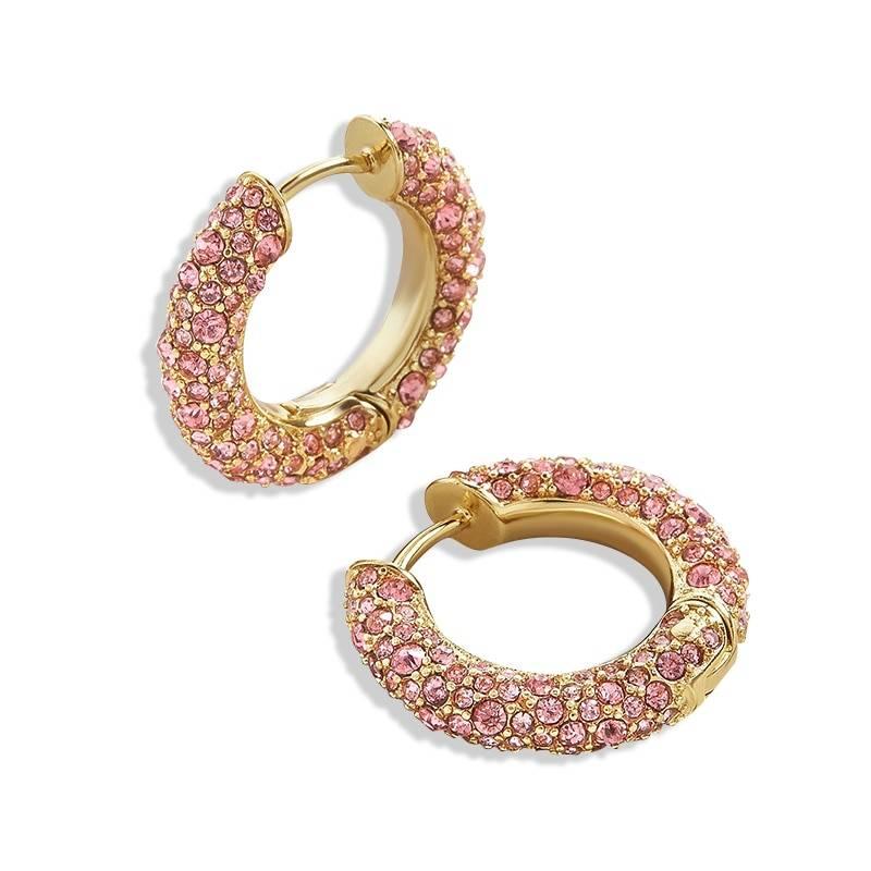 Rainbow Earrings Cubic Zirconia Ear Cuff Set 29