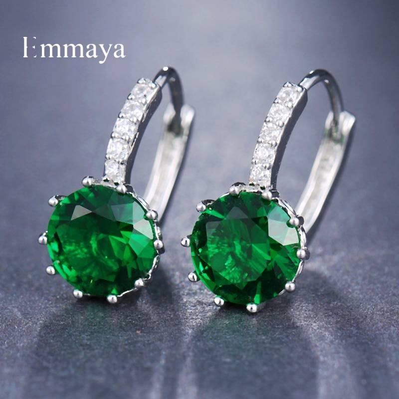 10 colors stud earrings