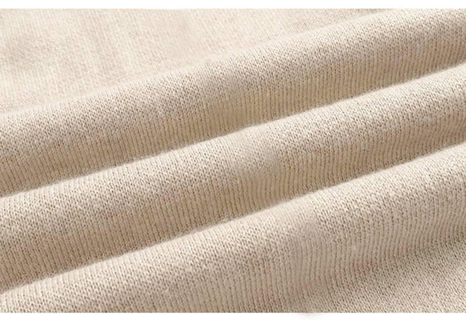 Elegant pullover sweater high waist knit wide leg pants 2 piece set