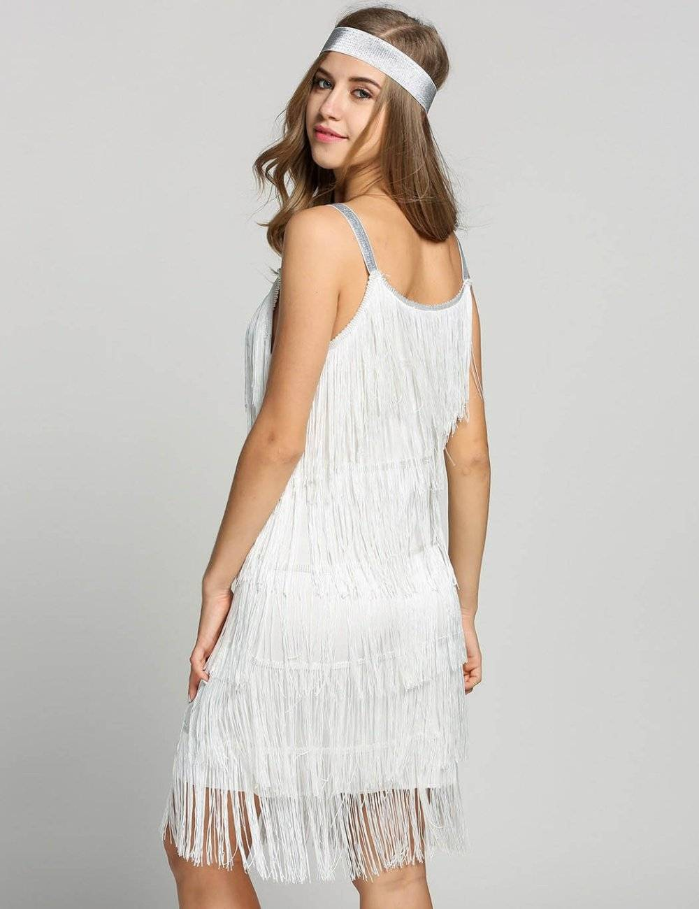 Vintage great gatsby swing party dress